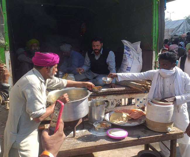 sonipat ncr farmers protest free food for farmers at murthal dhaba know the whole truth