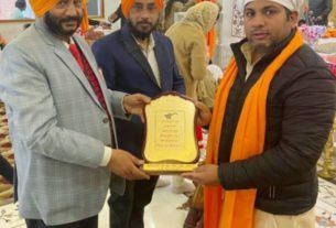 sonipat campaign to spread the teachings of guru gobind singh to the people