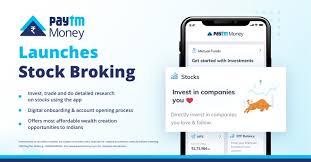 Paytm stock service