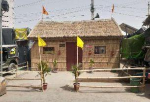 farmer-protest-kisan_hut