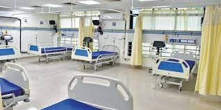 the team arrived at the notice of lack of oxygen in the private hospital the guards prevented them from going into the icu sonipat news