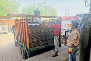 the demand for oxygen cylinders increased by four times the agency prepares advance