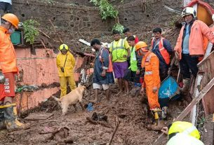mumbai rain causes landslides in chembur and vikhroli 14 killed rescue operation latest news maharashtra